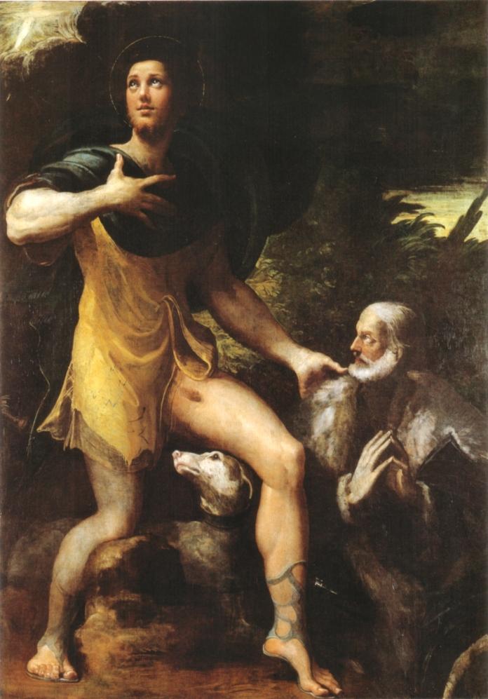 Parmigianino,_san_rocco_e_un_donatore